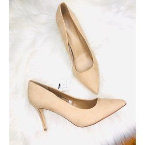A New Day Nude Pointy Toe Heels Size 11